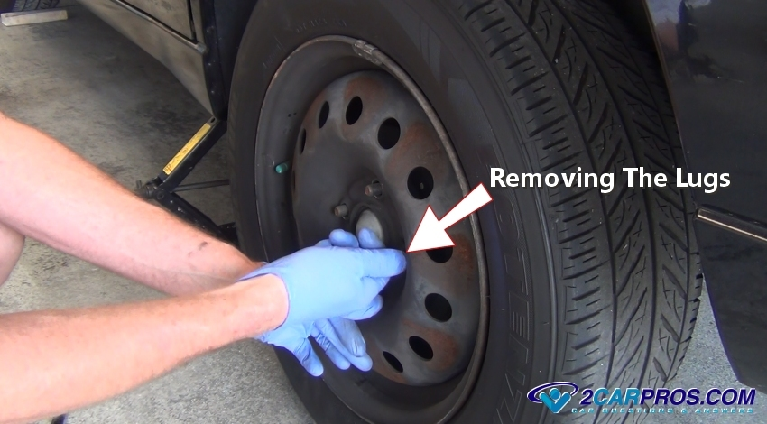 How to replace a tire on a rim by hand