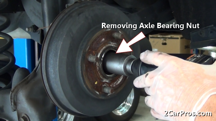mk4 rear wheel bearing removal