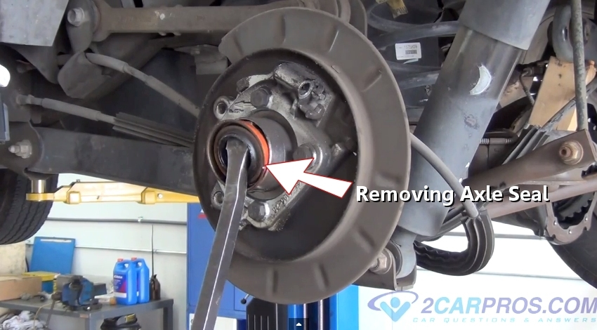 How To Replace A Rear Axle Bearing And Seal In Under 90
