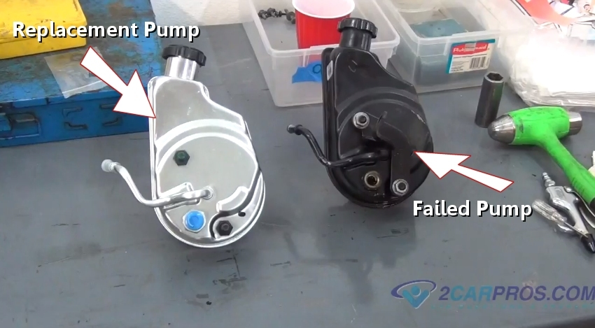How Much Is A Power Steering Pump >> How To Replace A Power Steering Pump In Under 2 Hours