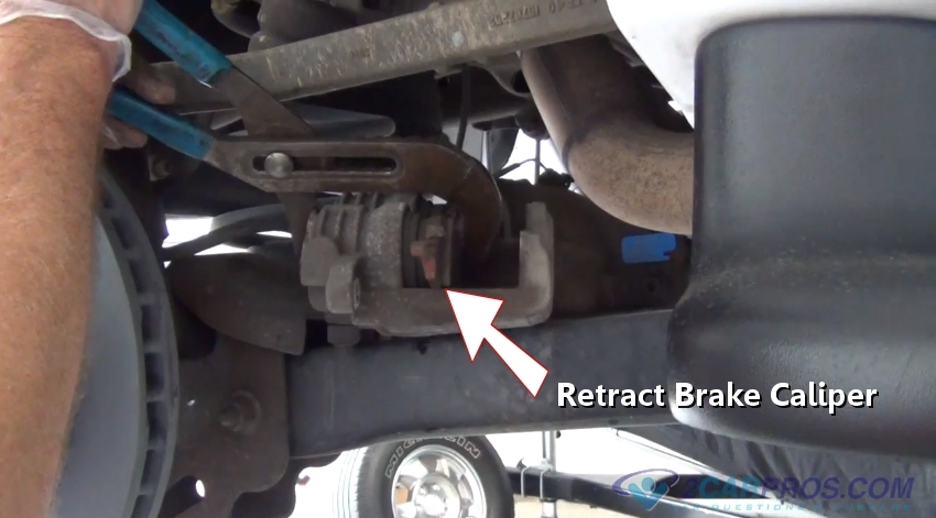 Brake Pad Clips >> How to Replace Rear Brake Pads and Rotors in Under 90 Minutes
