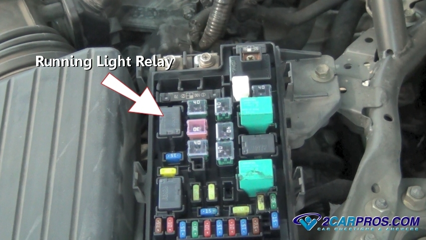 how to fix running light problems in under 20 minutes 1999 civic fuse diagram