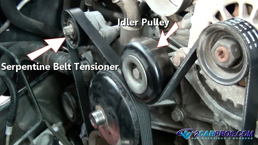 How Much Is A Serpentine Belt >> How Serpentine Belt Tensioners Work Explained In Under 5 Minutes