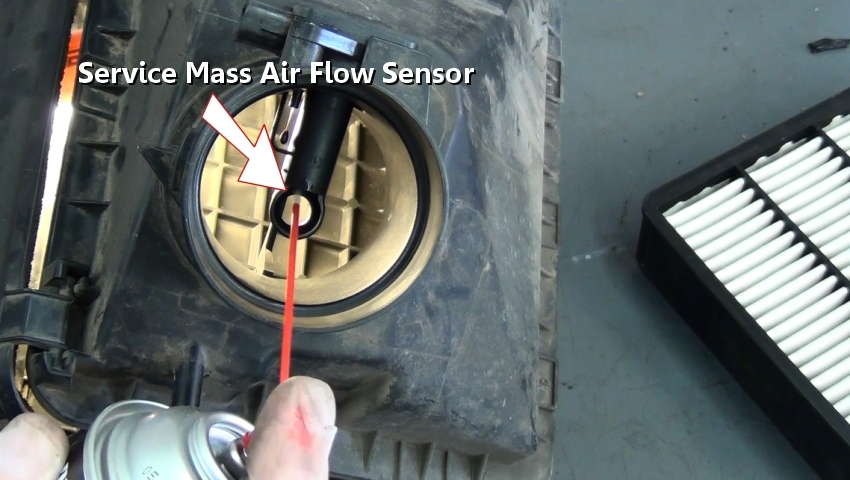 Service Mass Air Flow Sensor