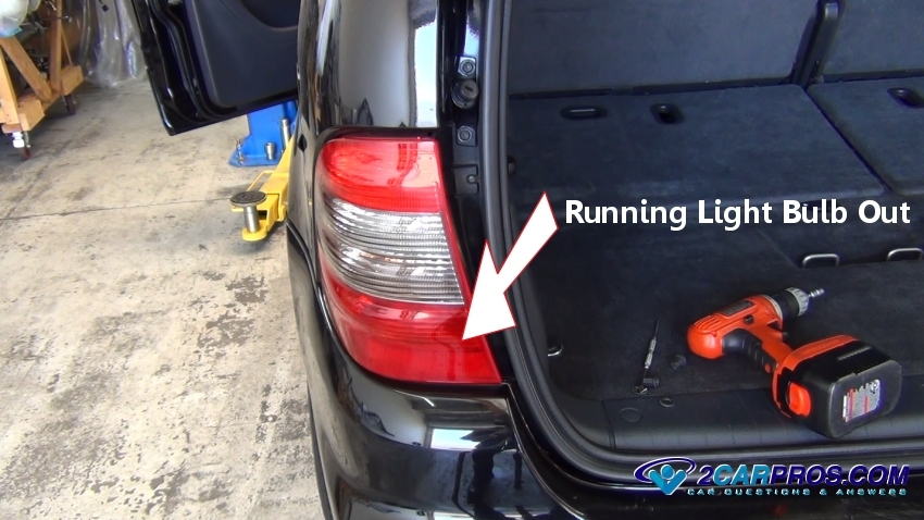 tail light out how to fix running light problems in under 20 minutes
