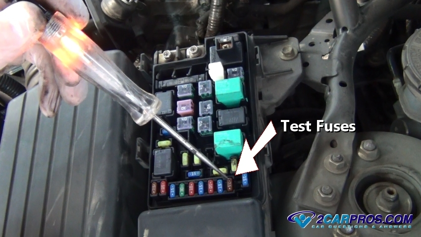 testing fuses 345 how to test a relay in under 15 minutes how to check fuse box in car at couponss.co