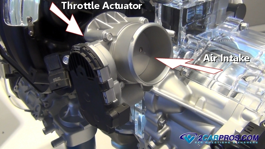 Throttle Actuator Control : Car repair world how throttle body works