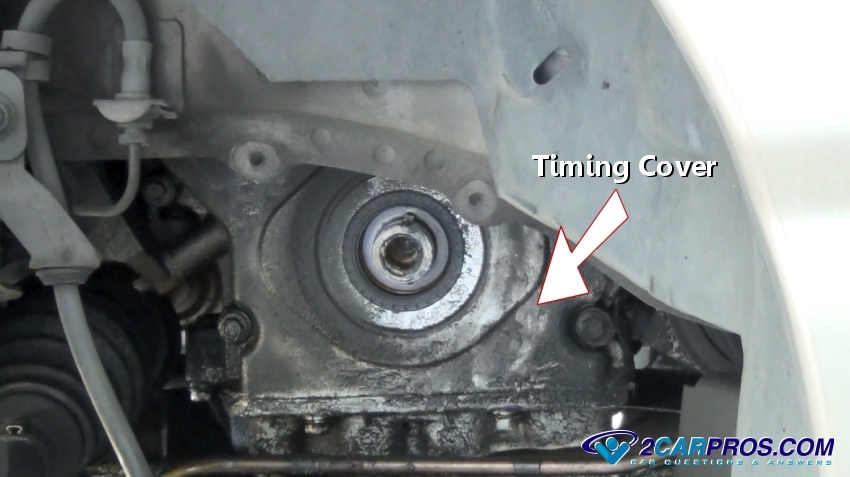 Timing Cover on 2002 Ford Focus Timing Belt Diagram