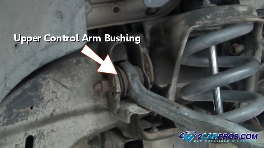 Upper Control Arm Bushing on 1998 Dodge Front End Diagram