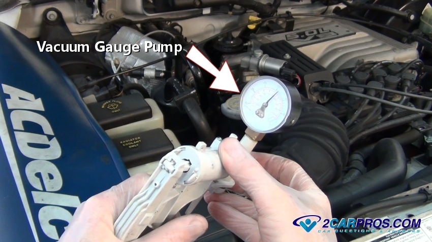 Best place to hook up vacuum gauge