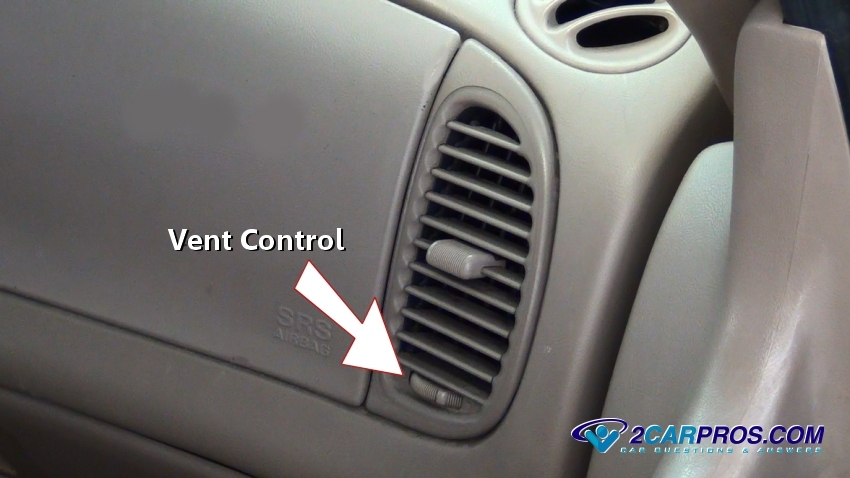 How To Fix No Air Ing From Vents In Under 1 Hour. Step 2 Most Cars Are Equipped With A Cabin Air Filter Or Hepa These Filters Designed To Clean The Before It Exits Vent. Ford. Air Conditioner 2003 Ford Explorer Dash Diagram At Scoala.co