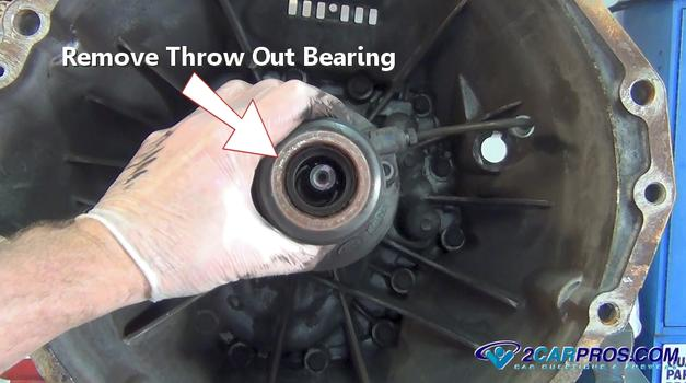 Remove Throw Out Bearing on 1988 Dodge Ram 3500