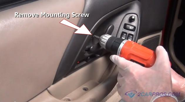 how to repair power window switch