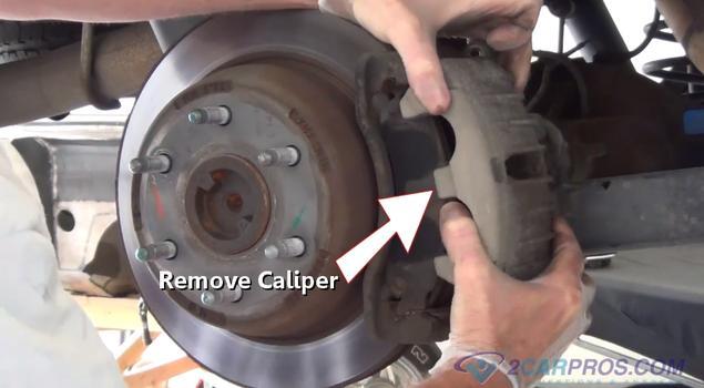 Brake Caliper Removal