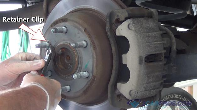 Rotor Retainer Clip