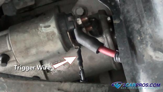 Starter Trigger Wire on 2005 Ford Taurus Engine Diagram