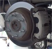Brake Pad and Rotor Replacement - Rear