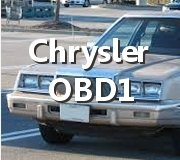 Get Your Chrysler Trouble Codes OBD1 Here