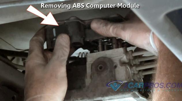 How to replace an ABS brake module