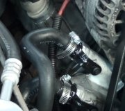 2000  ford windstar · heater hose replacement