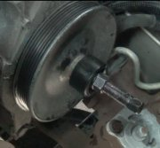 Power Steering Pulley Removal