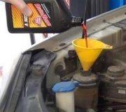 nissan xterra power steering fluid flush