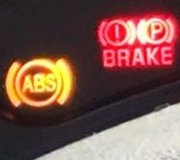 ABS Brake Warning Light On