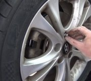 Wheel and Tire Removal