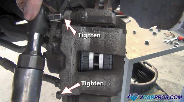 Car Repair World How To Replace Front Brake Pads And