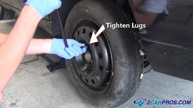 Tire Lug Nuts >> How to Change a Spare Tire in Under 15 Minutes