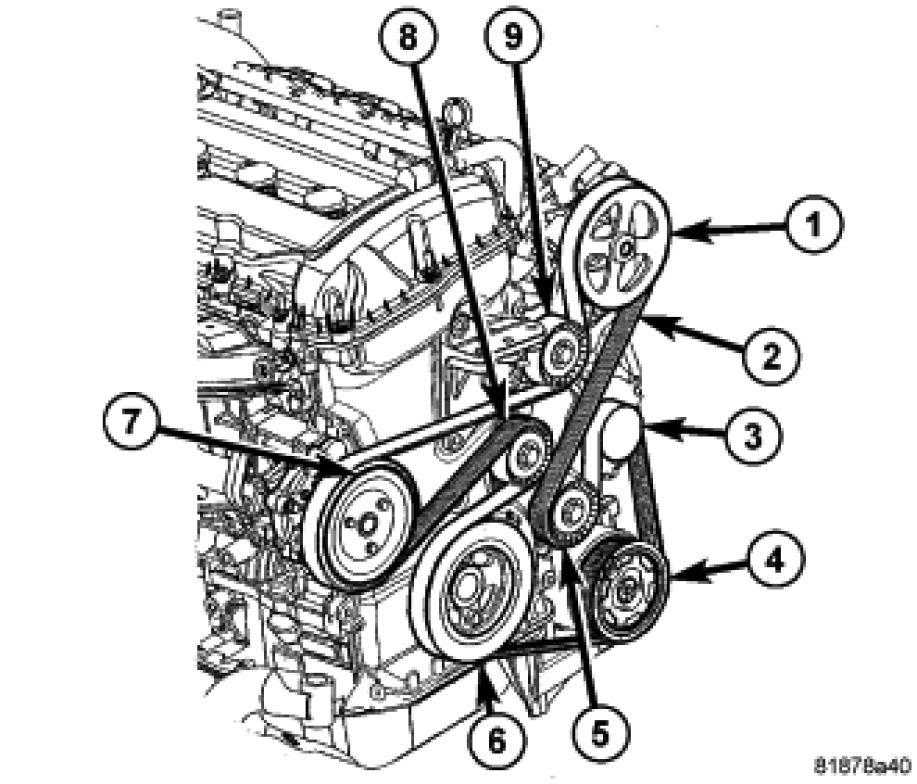 2013 Dodge Journey Engine Diagram