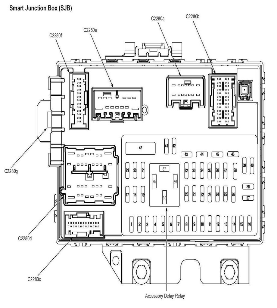 2003 ford focus fuse diagram
