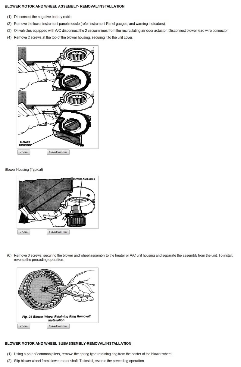 how to change blower motor