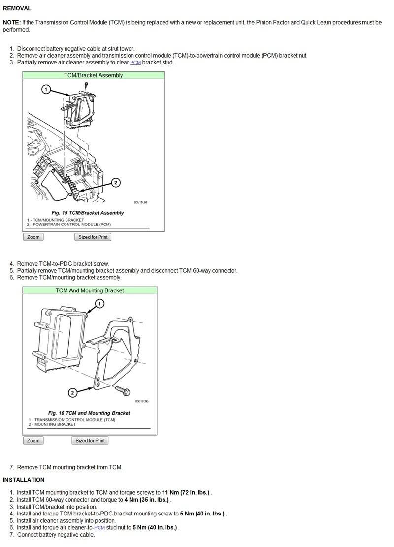 Transmission Control Module: How Do I Replace Transmission