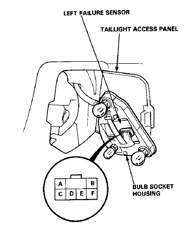 Honda Accord Brake Light Wiring Diagram