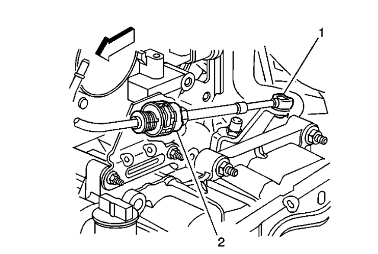 how to replace 06 dts shifter cable
