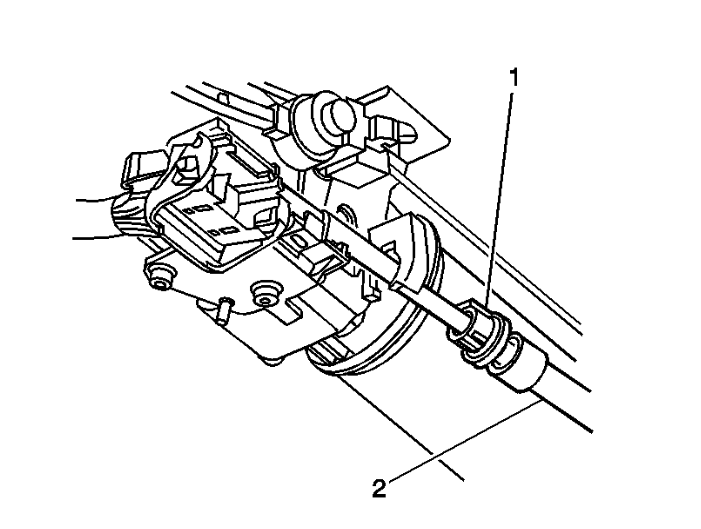 service manual  2006 cadillac dts automatic shift cable