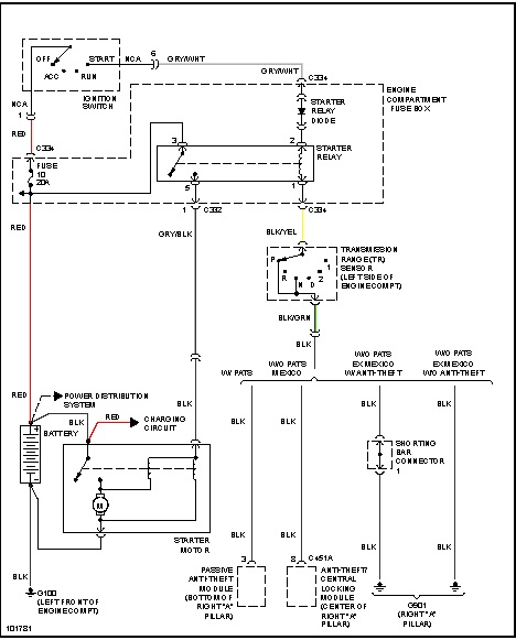 starter wiring please wiring diagram of how battery starter and rh 2carpros com  alternator and starter motor wiring diagram