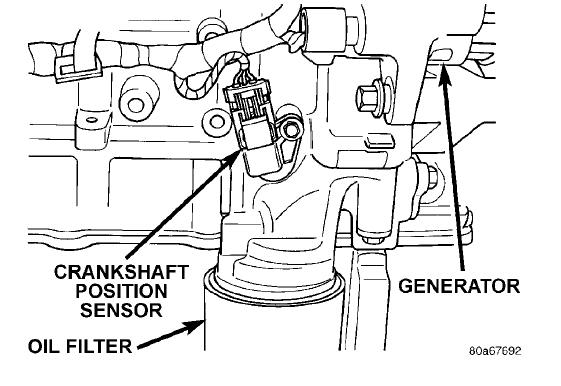 crankshaft sensor location  where is the crankshaft sensor