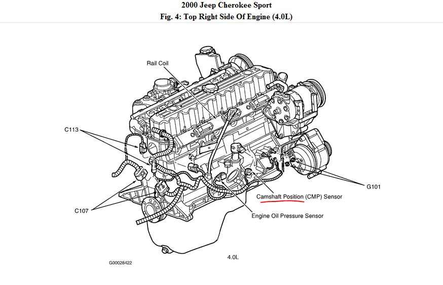 service manual  2000 lincoln continental camshaft sensor
