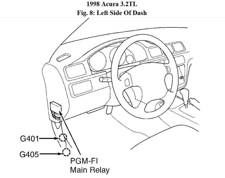 acura fuel pump diagram wiring diagrams the