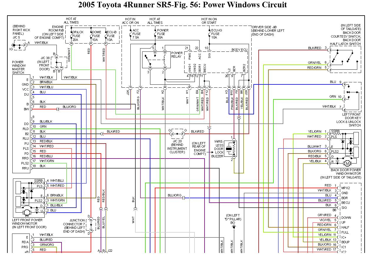 Wiring Diagram T100 And Schematics 1997 Toyota Fuse 96 Box Chevy Tracker Odicis Panel