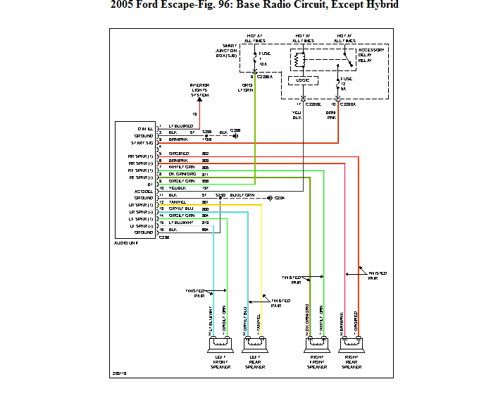 original 2010 escape wiring diagram 2010 free wiring diagrams 2010 ford escape radio wiring diagram at bayanpartner.co