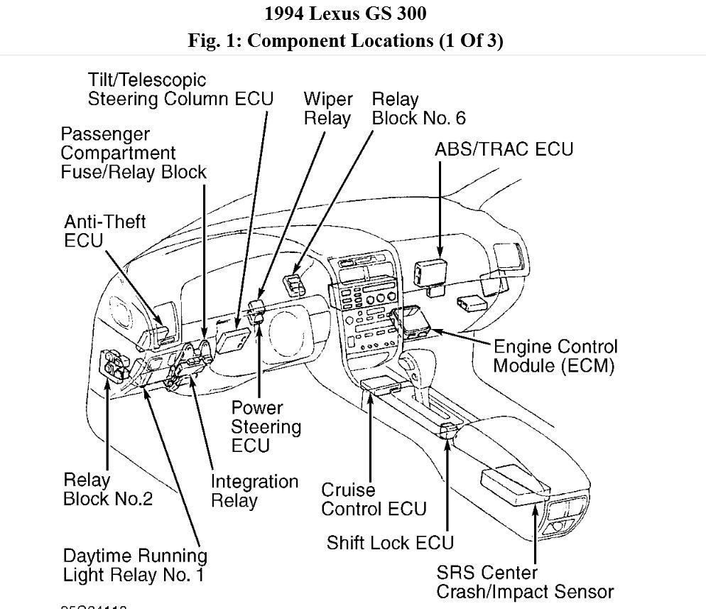 Original on 1995 Mitsubishi Montero Fuse Diagram
