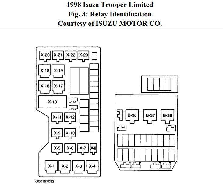 1998 trooper relay, solenoid, starter? 1998 isuzu trooper all of 95 Pontiac Bonneville Engine Diagram 95 isuzu trooper engine diagram