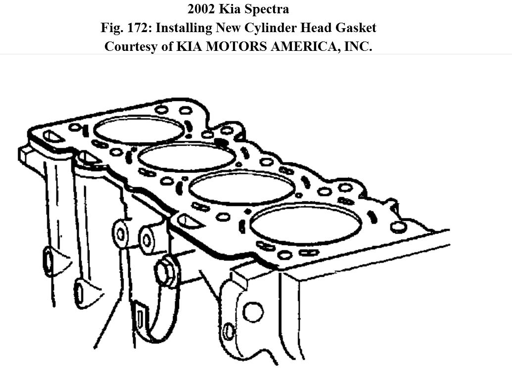 Where I Can Find A Free Step By Diagrams On How To Install. KIA. 2005 KIA Rio Engine Diagram Of A Head Gasket At Scoala.co