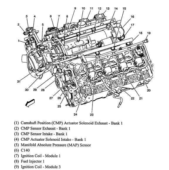 2008 cadillac cts engine diagram wiring diagram electricity rh casamagdalena us 2007 Cadillac CTS Parts Diagram 2003 Cadillac CTS Radiator Diagrams