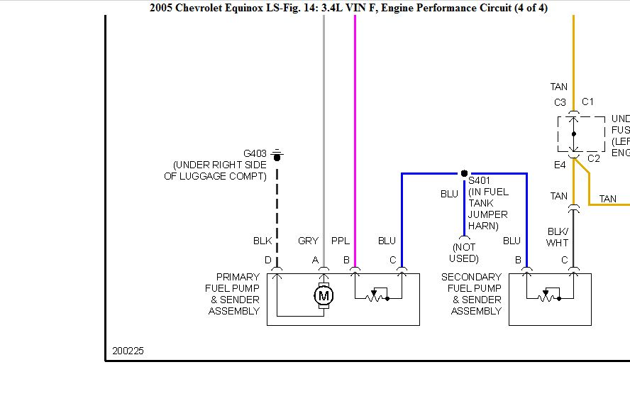 2014 equinox fuel diagram for