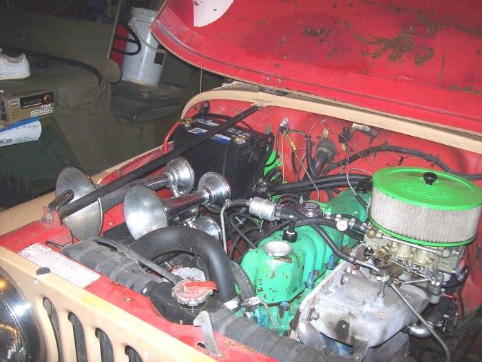 my 1984 jeep cj7 4cyl 5 spd trys to stall when i turn headlights rh 2carpros com CJ7 Wiring Harness Diagram CJ7 Tail Light Wiring Diagram