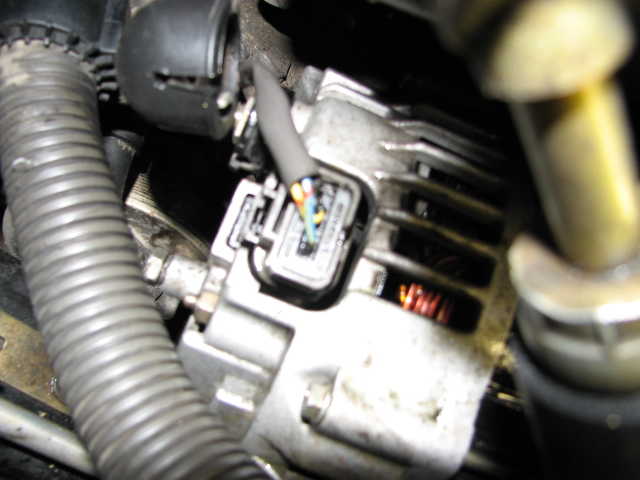 original replacing the alternator how do you remove the wiring clip how to disconnect alternator wiring harness at panicattacktreatment.co